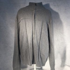 Banana Republic Full Zip Sweater Thick and Warm!